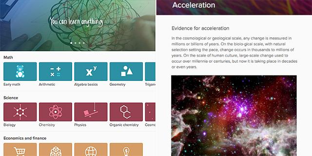 Khan Academy: ללמוד דרך הסמארטפון בקלי קלות
