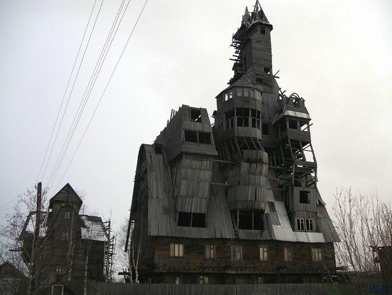 מגדל עץ, צילום: hideback.tumblr