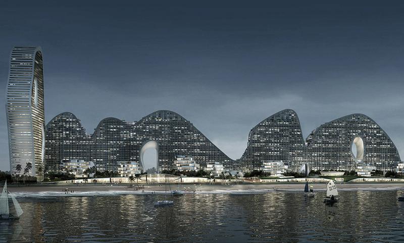 בניין הררי, צילום: MAD architects
