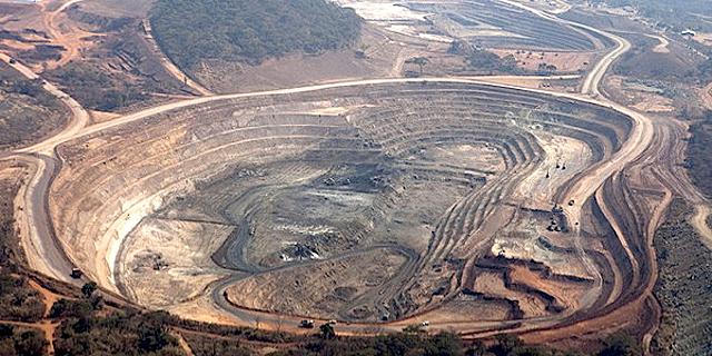 מכרה נחושת של גלנקור בקונגו, צילום: יוטיוב