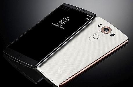 "LG v10 פאבלט סמארטפון חדש מסך כפול 1, צילום: יח""צ"