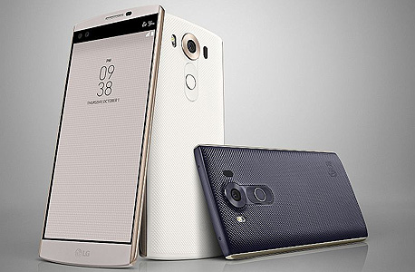 "LG v10 פאבלט סמארטפון חדש מסך כפול 2, צילום: יח""צ"
