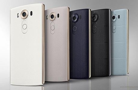 "LG v10 פאבלט סמארטפון חדש מסך כפול 3, צילום: יח""צ"
