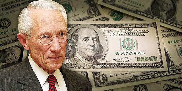הרפתקת הדולרים של פישר: בנק ישראל הפסיד 8.6 מיליארד שקל ב-2013