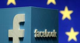 לוגו פייסבוק האיחוד האירופי, צילום: רויטרס
