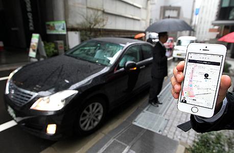 מונית ללא נהג אובר, צילום: בלומברג