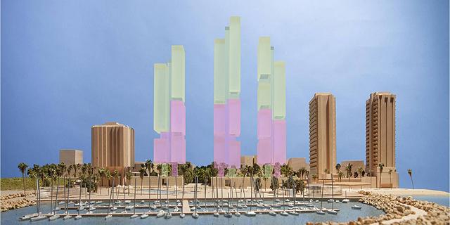 המועצה הארצית קבעה: מגדלי כיכר אתרים ישארו בגובה של 25 קומות