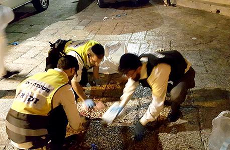 """מתנדבים בזק""""א בפעולה, צילום: זק""""א"""