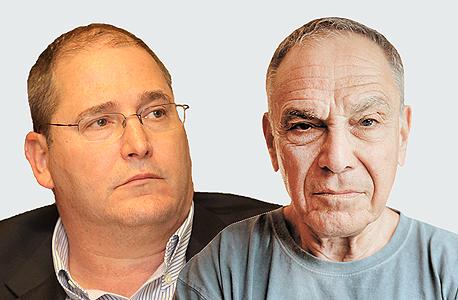 מימין איתן ששינסקי ו ניר גלעד, צילום: מיקי אלון , אוראל כהן