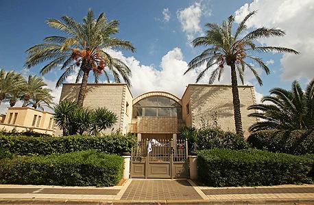 ביתו של מנחם סמדז'ה בקיסריה