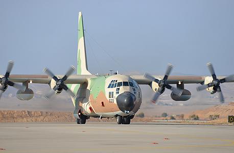מטוס C-130 אלביט מערכות גלילות 2, צילום: אתר חיל האויר צלמת, הגר עמיבר
