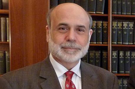 """יו""""ר הפדרל ריזרב לשעבר, בן ברננקי. נלחם בסיכון בהורדת ריבית אגרסיבית"""