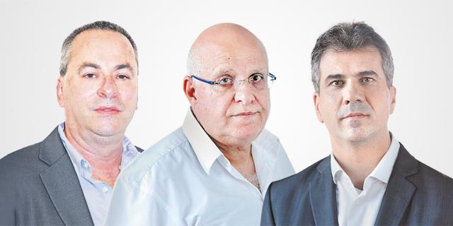"""מימין: כהן, יצחקי ובריק. הפרשנות החדשה עלולה להפוך את תמ""""א 38 לאפשרית לעשירים בלבד, צילום: דוברות המפלגה כולנו, עמית שעל"""