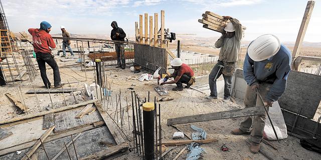 """הלמ""""ס: עלייה של 26% בהתחלות הבנייה בהתנחלויות ב-2015"""