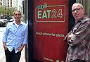 מוסף שבועי 15.10.15 אכלו את אמריקה מימין אמיר אייזנשטיין ו נדב שרון, צילום: אסף גלעד