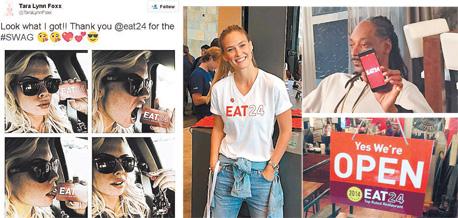 """הראפר סנופ דוגי דוג, בר רפאלי וכוכבת הפורנו טארה לין פוקס מתגייסים לפרסום הוויראלי של Eat24. אייזנשטיין: """"פרסום בגוגל היה שחיטה, ובדיוק אז גם פייסבוק התחילו לשחוט"""""""