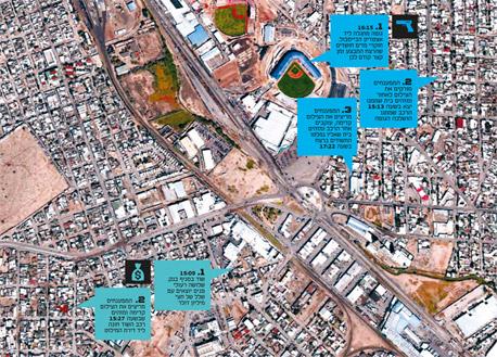 האח הגדול עולה למעלה. כך עובדת המערכת של PSS (אירועי הדמיה), צילום: Google Earth