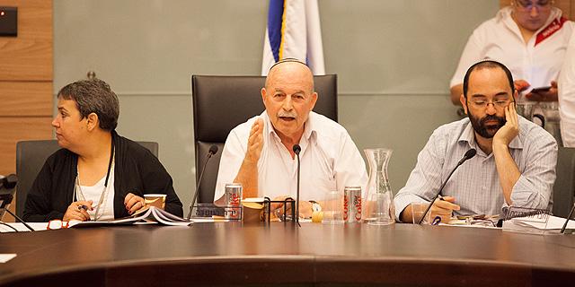 ועדת הכנסת העבירה את חוקי המלחמה בהון השחור לסלומינסקי