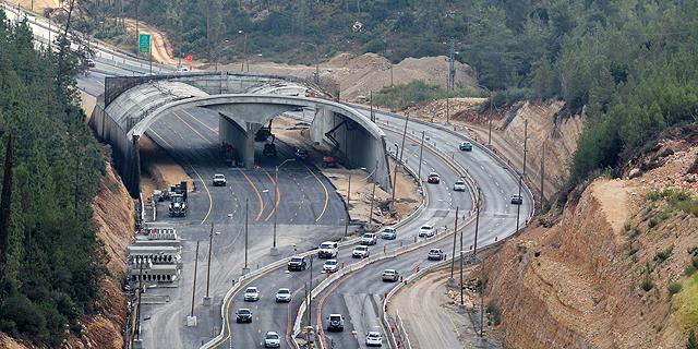 הפקקים במנהרות יעלמו? ביום ראשון הקרוב יתווסף נתיב שלישי בין מוצא לשער הגיא