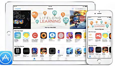 אפל אפליקציות אפסטור אייפון אייפד