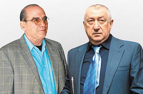 מימין: מיכאל צ'רנוי, גד זאבי