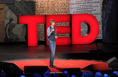 מרצה ב-TED ב-2013