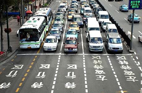 צ'נגדו סין אובר פול תנועה מוניות, צילום: notey / DIDI-KUAIDI