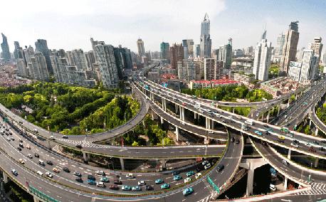 שנגדו סין אובר פול אוטוסטראדה תנועה, צילום: איי פי