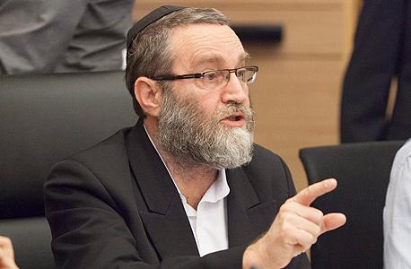 """משה גפני יו""""ר ועדת הכספים, צילום: עומר מסינגר"""