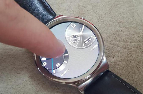 מחשוב לביש שעון חכם וואווי watch, צילום: ניצן סדן
