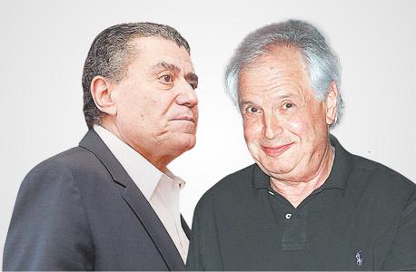 מימין שאול אלוביץ' ו חיים סבן