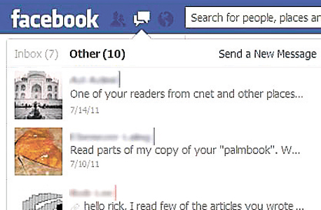 תקיית OTHER פייסבוק