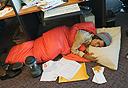 לישון במשרד, אילוסטרציה, צילום: שאטרסטוק