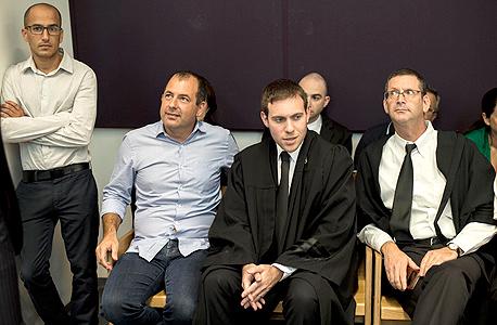 אמיר ברמלי בבית המשפט