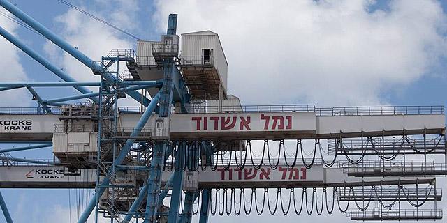 עובדי נמל אשדוד גילו קיזוז שכר על השבתות לא חוקיות, ופתחו שוב בעיצומים