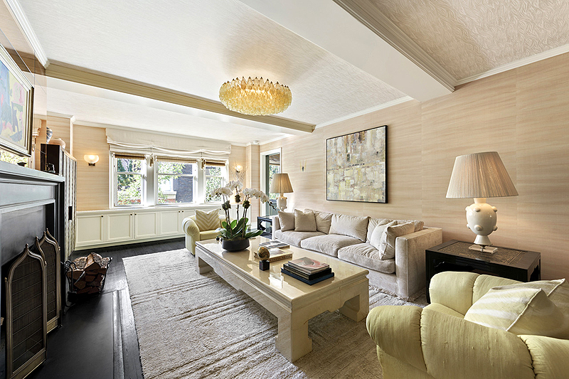 הסלון בדירה