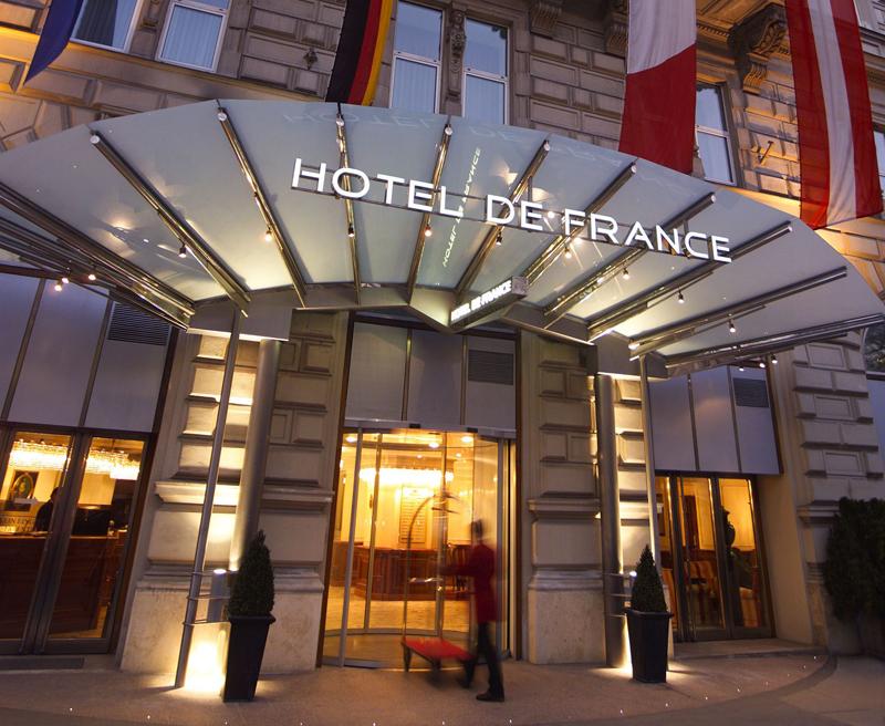 מלון דה פראנס בווינה. מיקום מושלם לתיירים