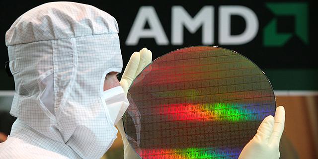 """דו""""ח AMD: הצמיחה נמשכת, ומגיעה לשיא של שבע שנים"""