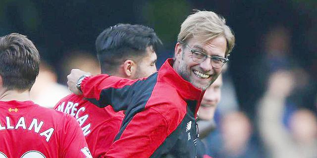 מאמן ליברפול יורגן קלופ. המטרה היא לעשות פחות טעויות, צילום: אימג