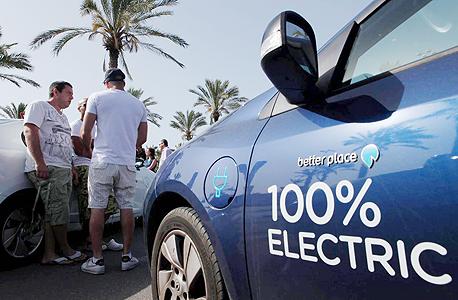 """מכונית חשמלית של בטר פלייס. """"חייבים לאפשר הטענת רכב חשמלי משקע פרטי כפי שמקובל בעולם"""""""