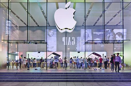 חנות אפל שנגחאי סין, צילום: שאטרסטוק