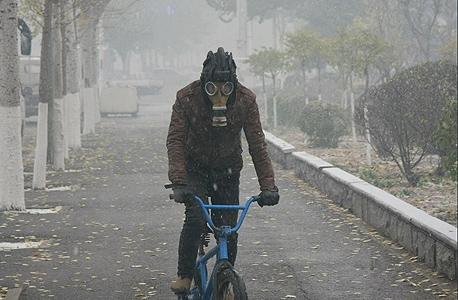 זיהום אוויר בשניאנג