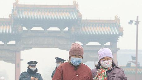 זיהום האוויר בסין