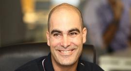 """מארק און מנכ""""ל gett ישראל, צילום: אוראל כהן"""