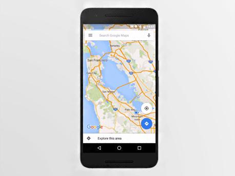 צילומי הלווינים שולבו בשירות המפות של גוגל
