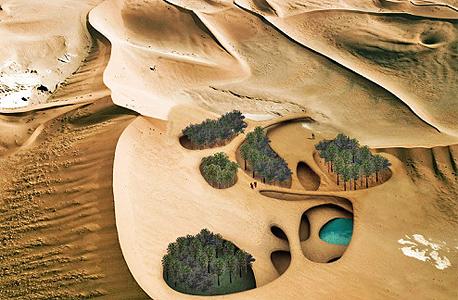 החומה שתעצור את המדבר