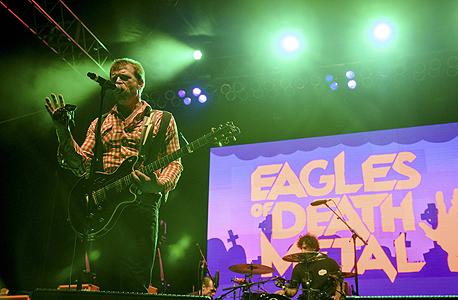 הלהקה שבהופעתה אירע הטבח Eagles of death metal, צילום: רויטרס