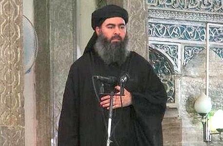 אבו בכר אל בגדדי ראש ארגון דאעש, צילום: Al-FURQAAN MEDIA
