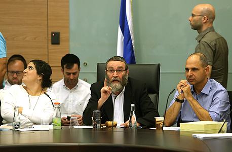 ועדת הכספים תקציב המדינה ל 2016 משה גפני, צילום: עמית שאבי