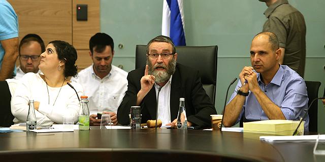 ועדת הכספים בדיוני תקציב המדינה, צילום: עמית שאבי